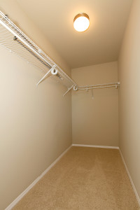Walk-in Empty Closet