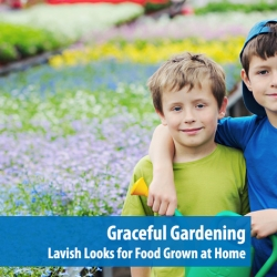 Graceful Gardening: Lavish Looks for Food Grown at Home